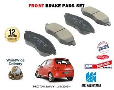 FOR PROTON SAVVY 1.2  9/2005->ON NEW FRONT BRAKE DISC PADS SET