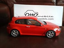*NEW* OTTO MOBILE MODELS ALFA ROMEO 147 GTA 3.2 V6 RESIN MODEL ROSSO RED 1/18