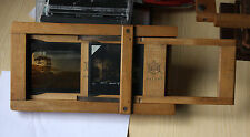 Antique vintage Jay-Nay magic lantern projector slide carrier holder.