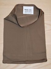 Neck Gaiter, New with Tags -  U.S. Military CIF/IIF Issue, BROWN/TAN Polypro