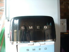 Smeg TSF02BLUK Black 50's Retro  4 Slice Toaster-Customer Return-Pristine