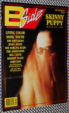 1991 B-SIDE MAGAZINE, SKINNY PUPPY, SONIC YOUTH, BREEDERS, BILLY IDOL
