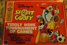 1984  GOLDEN GAMES - DISNEY'S SPORT GOOFY - TIDDLY WINK TOURNAMENT OF GAMES