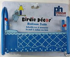 PET BIRD HOME DECOR BABY BED TOY FUN ACTIVITY FOR CAGE SMALL TO MEDIUM