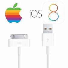 Original Genuine  USB Charger Data Sync Cable iPhone 4 4S iPod Touch iPad 2 3