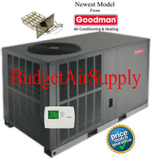"2 Ton 16 seer Goodman HEAT PUMP""All in One""Package Unit GPH1624H41+Heat+tstat+"