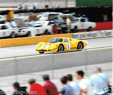 Ford GT40 mkiv bruce mclaren mario andretti sebring 12 heures 1967 photographie