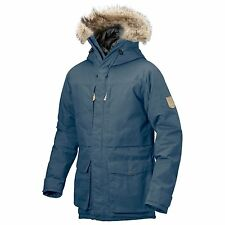 New Fjallraven Men's Barents Parka Uncle Blue Extra Small Jacket Coat 81335