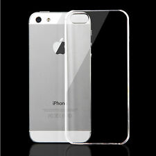 Ultra Thin Slim Transparent Clear Crystal Hard Case Cover For Apple iPhone 5 5S