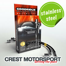 Ford Focus Mk2 ST 2.5 2005- Goodridge Brake Hoses (Stainless Fittings)