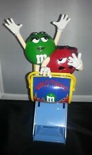 ORIGINAL M&M MARS WILD THING ROLLER COASTER CANDY DISPENSER RED & GREEN