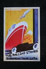 The Rolling Stones Poster 1970 Tour of Europe