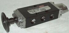 Ingersoll-Rand Aro 3 Way Pneumatic Manual Bleed Air Valve E252BD 5631-33-02