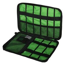 Nylon Storage organizer Portable Holder Cable Bag Case For Wire Headset Travel