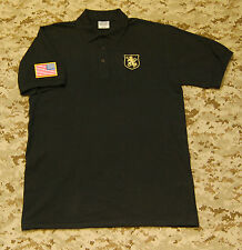 NSWDG Gold Squadron Polo Shirt DEVGRU SEAL NSW Gold Team Size L Large