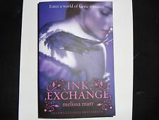 MELISSA MARR – Ink Exchange, Book 2 in Wicked Lovely series (Paperback, 2009)