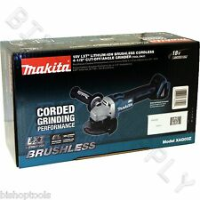 "Makita XAG03Z Cordless 18V LXT Brushless 4-1/2"" Angle Grinder Cut-Off Tool NEW"