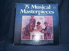 "Colonial CG-10275 Various Artists - 75 Musical Masterpieces 1970's 12"" 33 RPM"