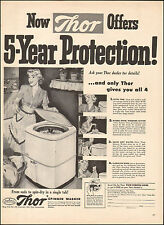 1951 Vintage ad for Thor Spinner Washer`Art Photo retro Pin-up Model (042416)