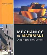 Mechanics of Materials by Gere, James Monroe;Goodno, Barry, Good Book