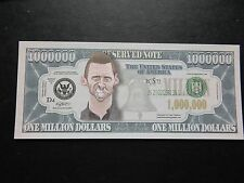 Hugh Jackman Wolverine $1 MILLION DOLLAR NOTE Novelty Bill $1,000,000 XMen Logan