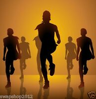Power Dance Workouts Keep Fit Exercise Cardio Lose Weight Fat Loss DVD Shred