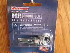 Westward AIR CHUCK CLIP snap-on inflating for ball-foot chuck #2HKX6  (C-45)