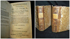 Dictionaire Portatif de la Fable – Paris  1801 Volume 1-2