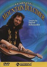 David Schnaufer Learning Mountain Dulcimer Learn to Play Beginner Music DVD