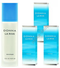 3x90ml = 270ml !!!  DONNA LA RIVE WOMAN Eau De Parfum Natural Spray TOP HIT !!!