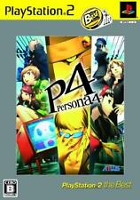 UsedGame PS2 Persona 4 PlayStation2 the Best FreeShipping [Japan Import]