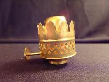 ABCO Nutmeg Brass Oil Lamp Burner New Old Stock