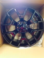 4 NEW 2014 GMC Sierra Wheels 20x9 Gloss Black OE Silverado  Tahoe