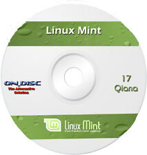 Linux Mint 17 Qiana LTS Cinnamon 64 Bit DVD Operating System OS Computer PC