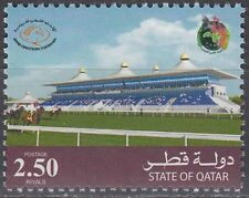 Qatar 2007 ** Mi.1310 Pferde Rennbahn Horses