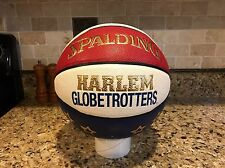 Official Spalding Harlem Globetrotters Game Ball Leather Basketball Men's 29.5