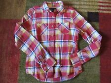 American Eagle Outfitters Flannel Long Sleeve shirt Sz 0