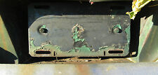 1961 chrysler rear license plate gas filler door newport custom rod mopar
