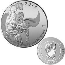 2015 Canada $20 Superman DC Comics TM Originals Fine Silver Coin