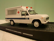 Chevrolet C-10 Ambulance 1 43 Moonraker James Bond 007 Edition mit Box