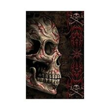 SKULL TRIBAL POSTER Tattoo RARE HOT NEW 24x36