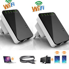 2 Stk. Mini Router 5in1 Repeater Verstärker WPS 300 Mbit Wifi WLAN Client LAN DE