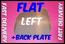 FITS NISSAN MICRA K13 MK4 2011+ WING MIRROR GLASS FLAT+ BACKING PLATE LEFT H/S