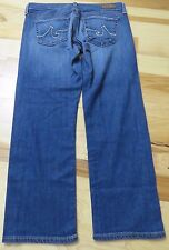AG ADRIANO GOLDSCHMIED The Tomboy Crop Relaxed Straight Crop Jean Capris Size 27
