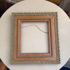 """Antique 3 Tier Victorian Small  Gold Gilt Picture Frame 15"""" H X 14"""" L"""