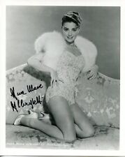 ANNA MARIA ALBERGHETTI HAND SIGNED 8x10 PHOTO+COA         GORGEOUS+SEXY ACTRESS