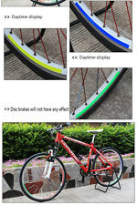 New Body DIY Cycling Bike Bicycle Wheel Decorative Sticker Rim Reflector  Decals