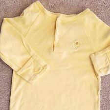SMALL WONDERS NEWBORN SOLID YELLOW DUCK SLEEP GOWN ADORABLE