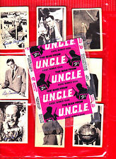 Man From UNCLE  A&BC Gum Cards Full Set of 55 + wrapper see text for more pics