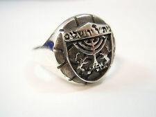 Israel Beitar Jerusalem Football Club Sterling Silver 925 Ring